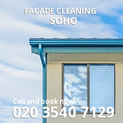 Soho Facade Cleaning W1
