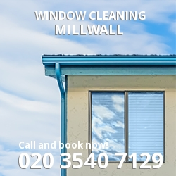 E14 window cleaning Millwall